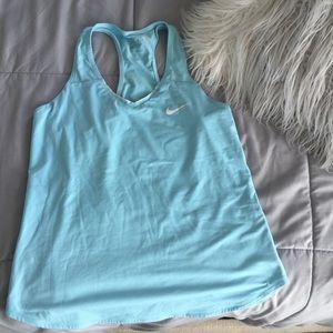 Nike Dri fit racerback workout tank athletic top